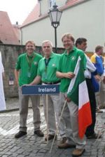 Irish team World Championships, Lusse 2008